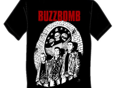 BUZZBOMB 'STRAY BULLETS' T-SHIRT main photo