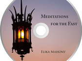 Meditations for the Fast physical CD + Art Print of Fasting Prayer photo