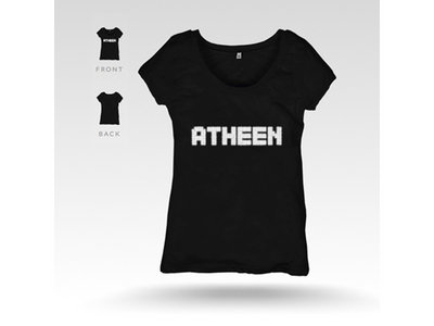 Atheen Logo T-Shirt - Black main photo