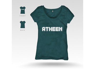 Atheen Logo T-Shirt - Green main photo