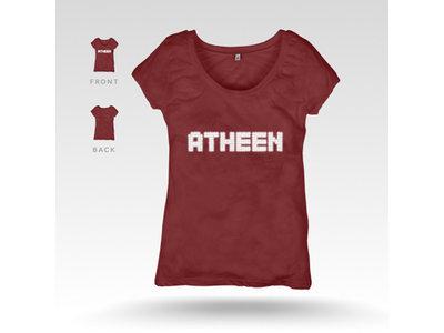 Atheen Logo T-Shirt - Maroon main photo
