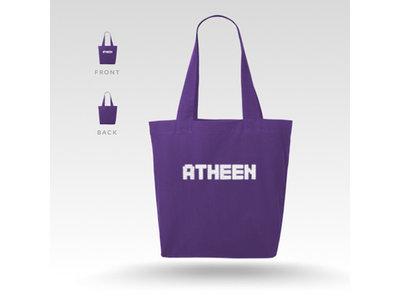 Atheen Logo Tote Bag - Purple main photo