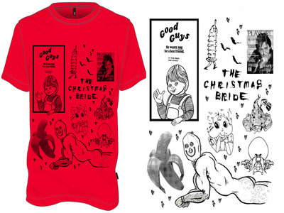 "The Christmas Bride ""Good Guys"" T-shirt main photo"