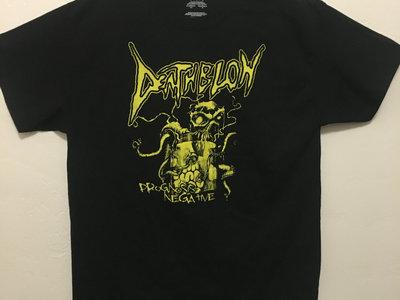 Deathblow - Prognosis Negative T-shirt (Yellow) main photo