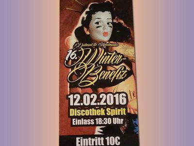 Ticket - 16.Winter-Benefiz Dortmund - 12.02.2016 main photo