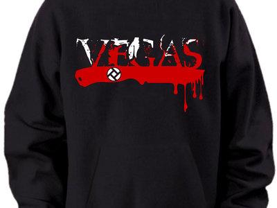 VEGAS 'Blade' print hoodie. main photo