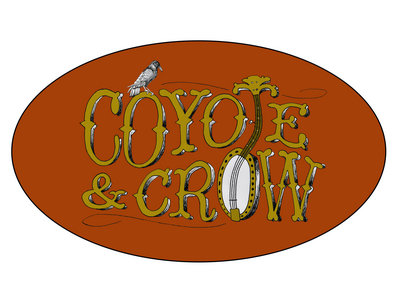 Coyote & Crow Oval Logo Sticker main photo