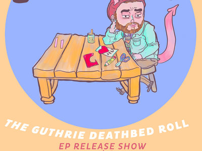 Feb 12th EP Release Show Ticket + Digital Download Code + Lmtd Edition Postcard Art main photo