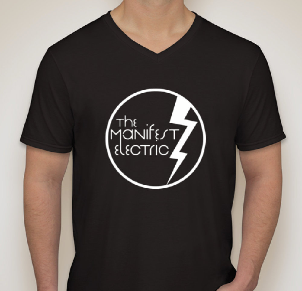 The Manifest Electric Logo T Shirt Black Main Photo