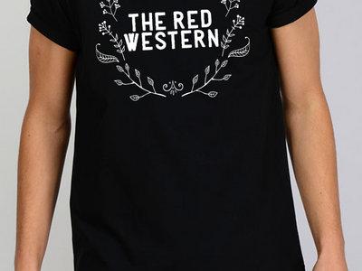 The Red Western Leaf Logo T-shirt main photo