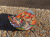 """Limited Edition """"Awoke"""" Tiger Pin with artwork by Android Jones photo"""