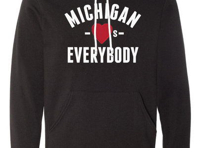 "Michigan Love Hoodie by 5iveit + ""Be You"" Exclusive Song Download main photo"