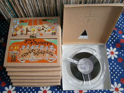 Home dubbed recycled lo-fi limited reel-to-reel tapes main photo