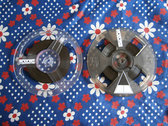 Home dubbed recycled lo-fi limited reel-to-reel tapes photo