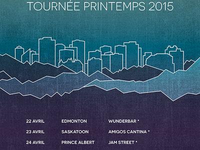 Tournée 2015 Poster main photo