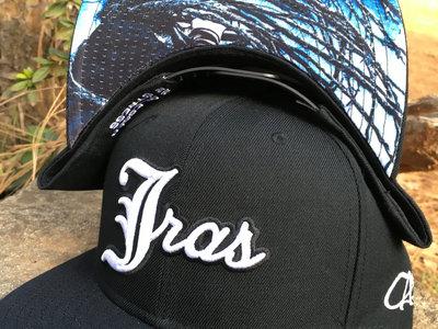 "J Ras Hat Snapback ""Black/White"" main photo"