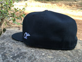 "J Ras Hat Fitted Size 8 ""Black/White"" photo"