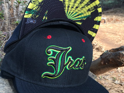"J Ras Hat Fitted Size 8 ""Black/Green/Yellow/Red"" main photo"