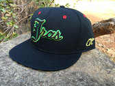 "J Ras Hat Fitted Size 8 ""Black/Green/Yellow/Red"" photo"