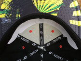 """J Ras Hat Fitted Size 8 """"Black/Green/Yellow/Red"""" photo"""