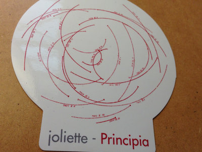 Principia vinyl sticker with digital download main photo