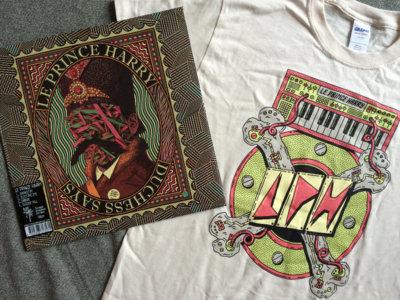 Le Prince Harry Value Pack - Split Vinyl LP + Tshirt + Digital main photo