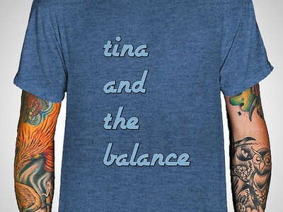Tina and the Balance Blue T-Shirt main photo