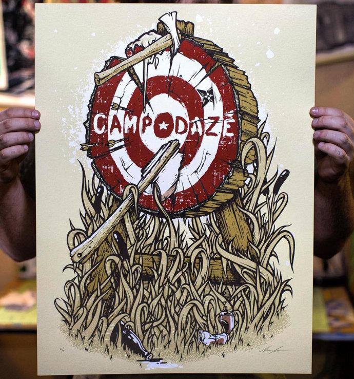 Target Practice Poster CAMP DAZE