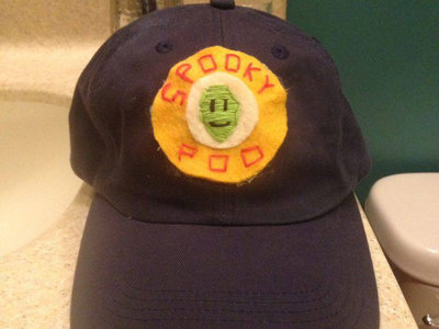 smiley alien patch hat main photo