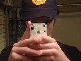 smiley alien patch hat photo