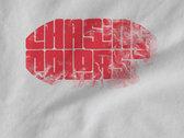 Mens T-Shirt Worn-look Logo White photo