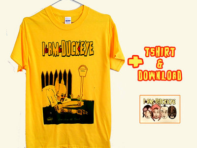 SONGS FROM THE GUNT COVER Yellow TEE + D/L main photo