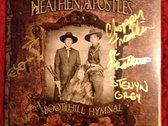 Heathen Apostles Logo T Shirt, 2 CDs, 3 Buttons Bundle w/ Free Download photo