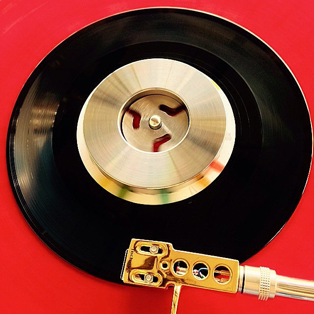 NEW DJ Osmose 45rpm 7inch vinyl record stabilizer weight STEEL | Osmose