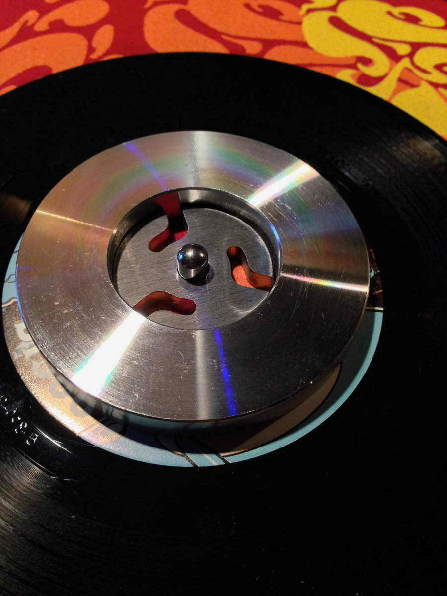 NEW DJ Osmose 45rpm 7inch vinyl record stabilizer weight