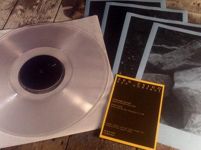 """Zen Zsigo - Eye Contact 12"""" Clear Vinyl (28 Copies Only) main photo"""