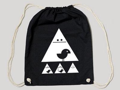 """Gym Bag Black """"Achtung White"""" main photo"""