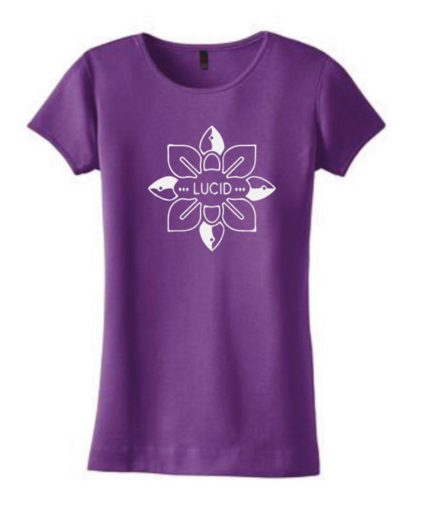 fc7be848383b Lucid Lotus Design T-Shirt - Plum main photo