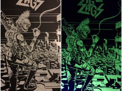 "Randy ""Ruler of the Wasteland"" Glow-in-the-Dark Silk-screened Poster main photo"
