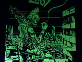 """Randy """"Ruler of the Wasteland"""" Glow-in-the-Dark Silk-screened Poster photo"""