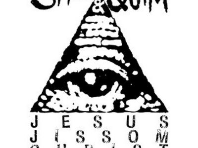 Smell & Quim – Jesus Jissom Christ Killers (White) main photo