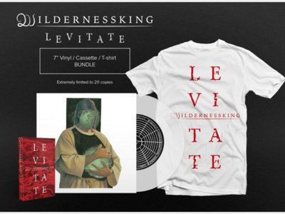 "LEVITATE 7"" Vinyl/Cassette/T-shirt Bundle main photo"