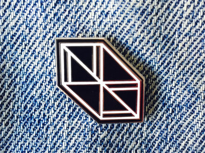 Negative Space enamel pin main photo