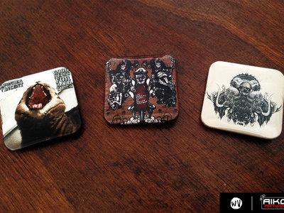Discography on pins! main photo