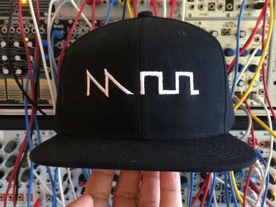 """Acid"" Waveform Hat (Snapback Flat Bill or Dad Hat options) main photo"