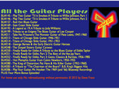 """All The Guitar Players"" - A Fund Raiser for Blues Unlimited (The Radio Show) photo"