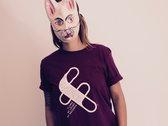 Flumo T-Shirt (Burgundy) photo