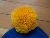 Knit Hat with Poof photo
