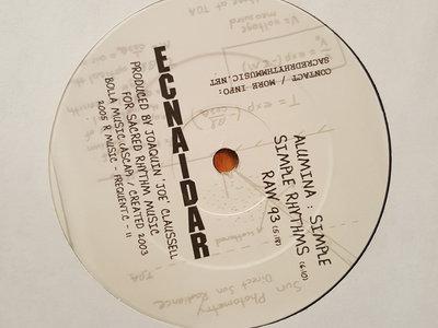 "Alumina: Simple/ Simplimental - 12"" Vinyl Release "" SPECIAL CLASSIC "" main photo"