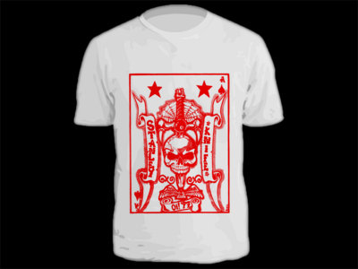 "Stanley Knife ""Oi '97"" skull and dagger t-shirt main photo"